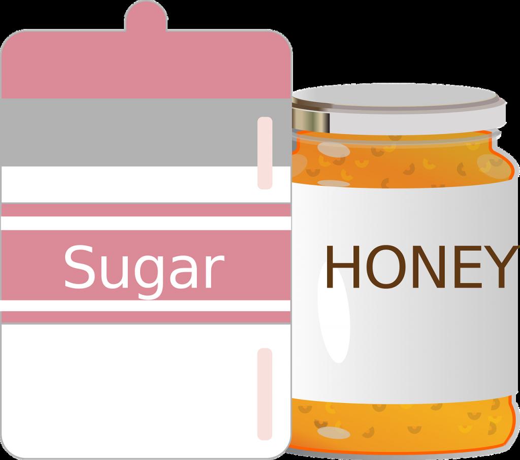 miele vs zucchero